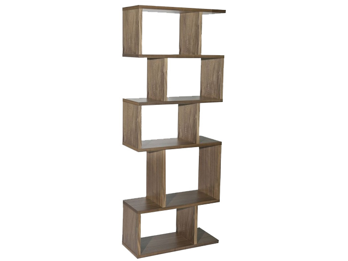 Balance Alcove Shelving in Walnut