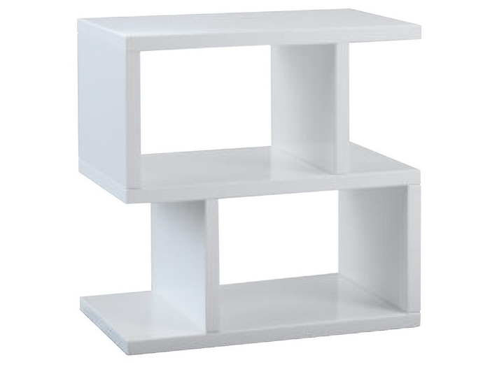 Balance Side Table in White