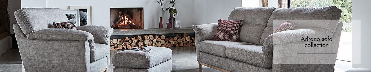 Adrano sofa collection from Ercol at Forrest Furnishing