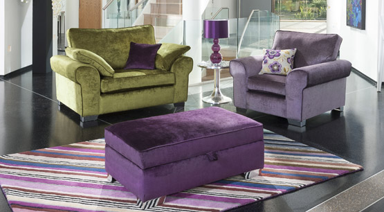 Camden Fabric Sofa Collectrion
