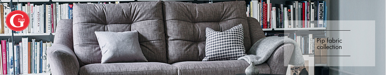 Pip Fabric Sofa Collection by G Plan Upholstery