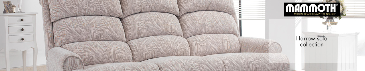 Harrow Fabric Sofa Collection