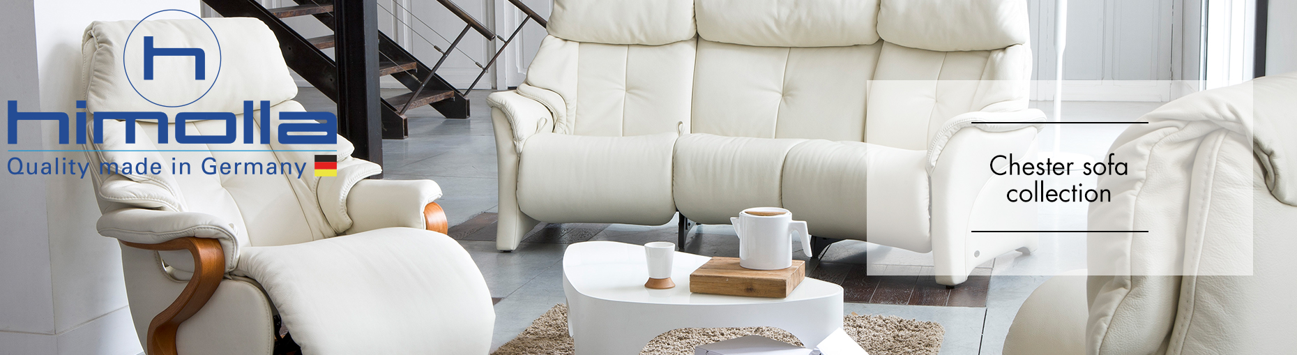 Chester Sofa Collection by Himolla