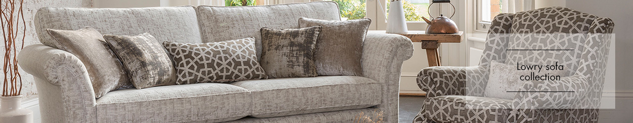 Alstons Lowry Fabric Sofa collection at Forrest Furnishing