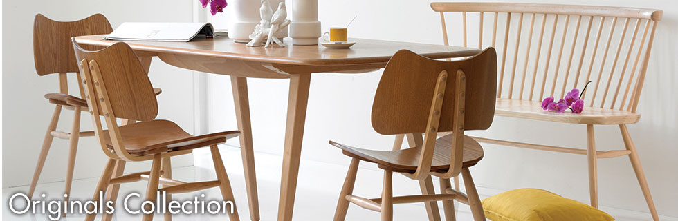 Originals by Ercol available at Forrest Furnishing