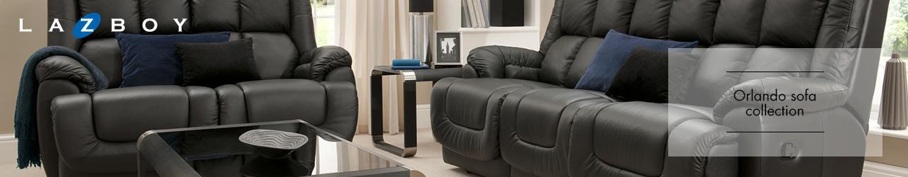 Orlando Leather Sofa Collection