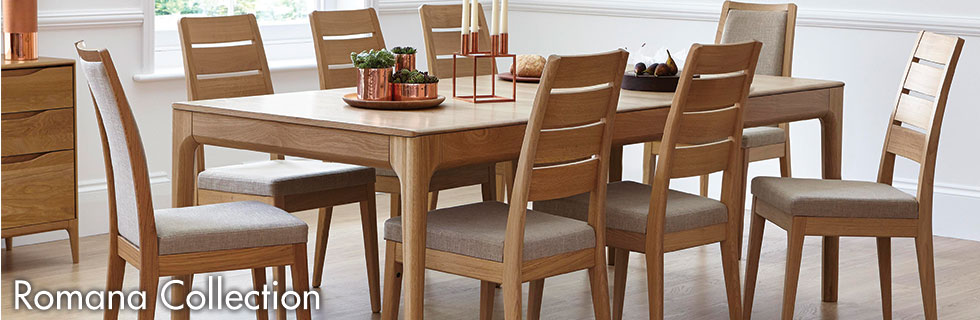 Romana Dining by Ercol available at Forrest Furnishing