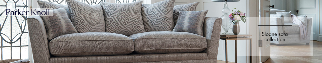 Sloane Fabric Sofa collection by Parker Knoll