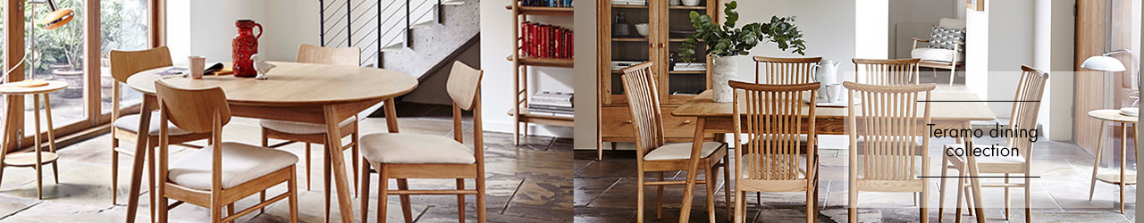 Ercol's Teramo Dining Collection