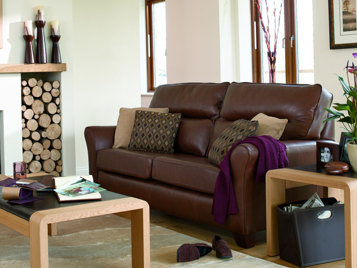 Gemma Leather Sofa Collection By G Plan Upholstery