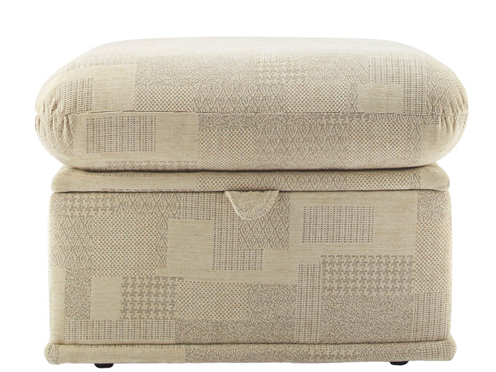 Malvern Fabric Footstool
