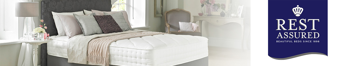 Rest Assured Beds Collection available at Forrest Furnishing
