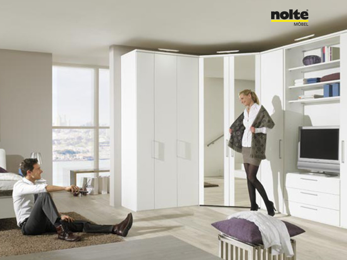 Nolte Horizon 7000 Folding Door Wardrobe System Furniture | Sofas ... | {Nolte logo möbel 80}