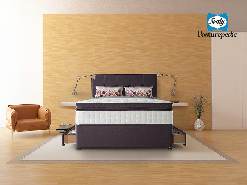Pocket Latex Pescara 135cm 2 Drawer Divan
