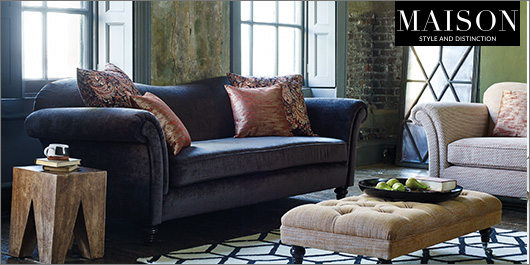Etienne Fabric Sofa Collection