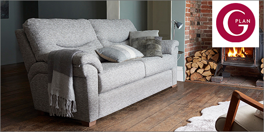G Plan Washington Fabric Sofa Collection