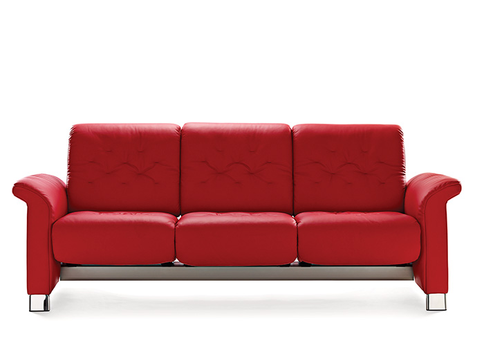 Metropolitan 3 seater sofa in paloma leather from for Paloma leather sofa