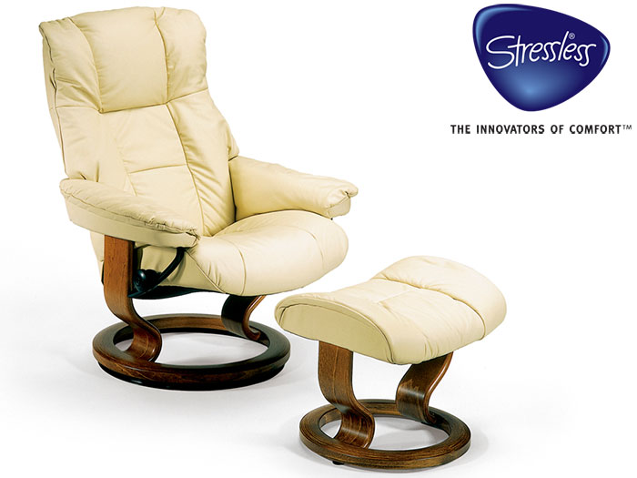 Mayfair Small Recliner in Batick Leather