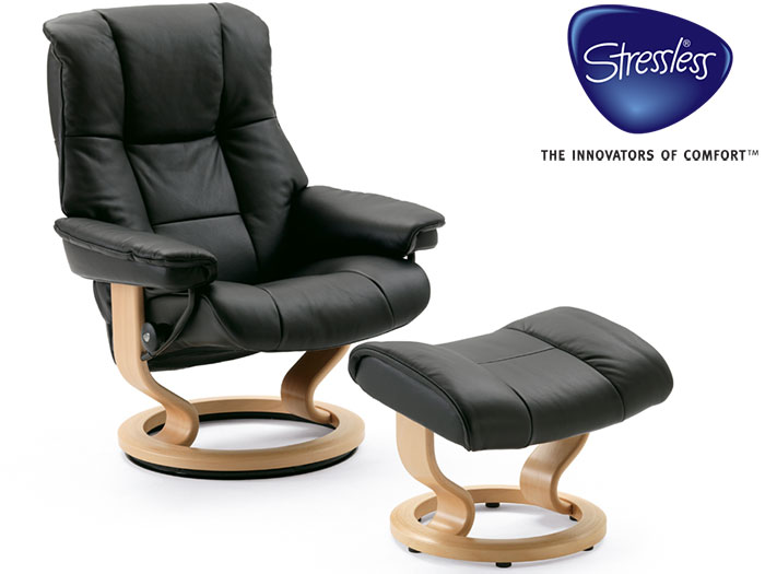 Mayfair Small Recliner in Cori Leather