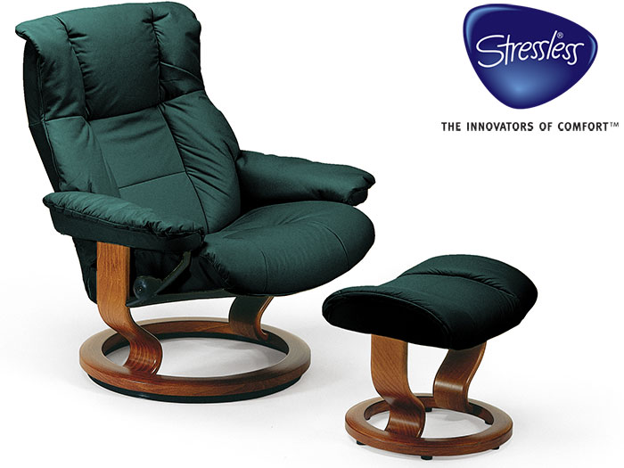 Mayfair Large Recliner in Batick Leather