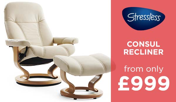 Stressless Consul from £899