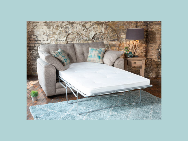 Cuba 2 Seater Sofa Bed with Pocket Mattress
