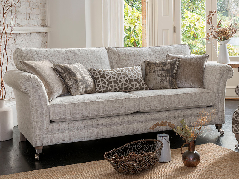 Lowry Grand Sofa Priced In F Grade Fabric Forrest