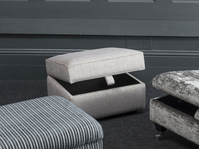 Lowry Storage Footstool