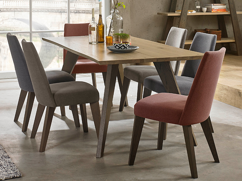 Arizona Dining Table and 6 Chairs