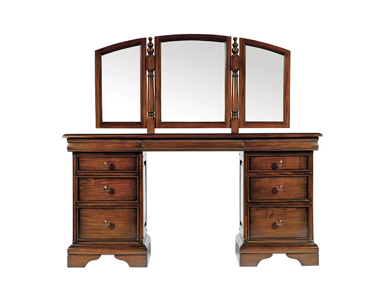 Lyon Dressing Table and Mirror