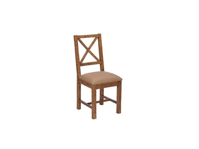 Jaipur Cross Back Upholstered Chair