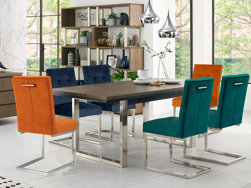 Tivoli Large Dining Table and 6 Chairs
