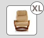 Extra Large Recliner Option
