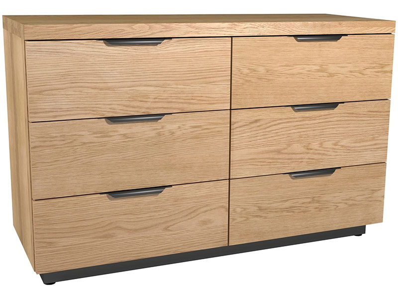 Bourton 6 Drawer Wide Chest