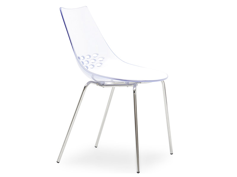 Jam White Transparent Chair