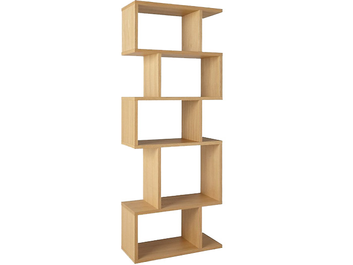 Balance Alcove Shelving in Oak