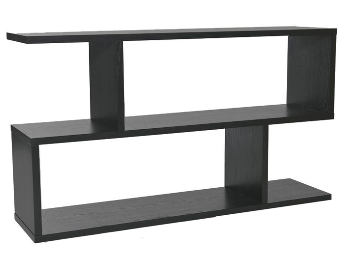 Balance Console Table in Charcoal