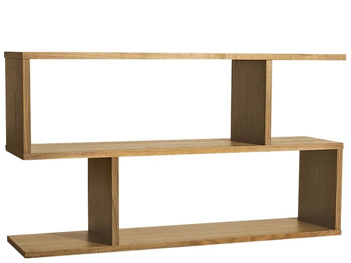 Balance Console Table in Oak