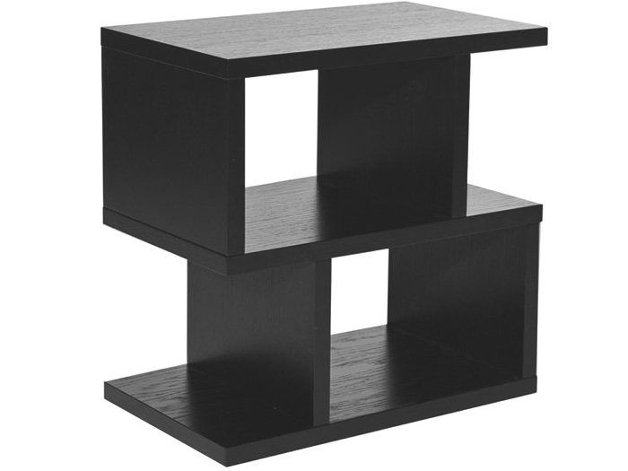 Balance Side Table in Charcoal