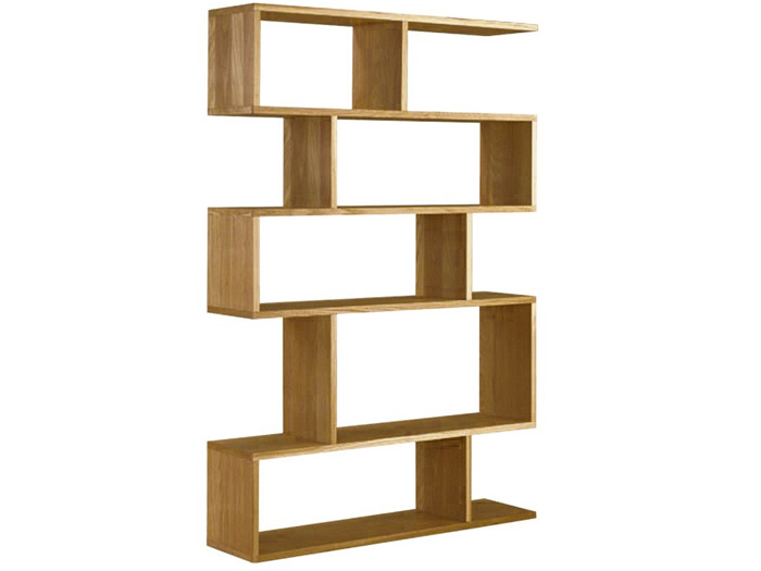 Balance Tall Shelving in Oak