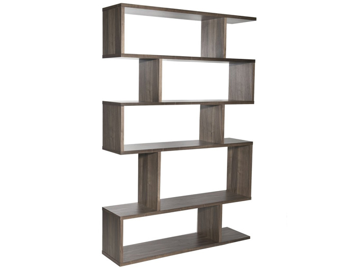 Balance Tall Shelving in Walnut