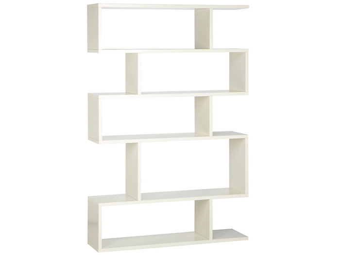 Balance Tall Shelving in White
