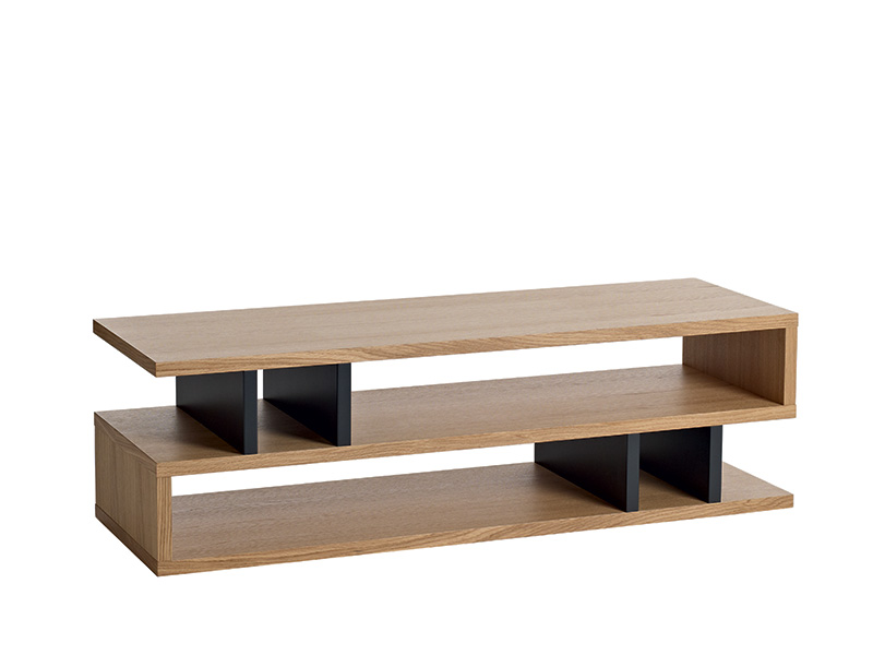 Counter Balance Coffee Table in Oak and Charcoal