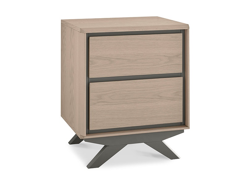 Copenhagen 2 Drawer Nightstand