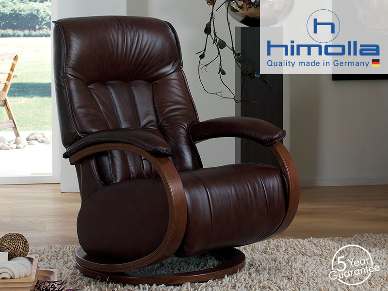 Mosel Leather Midi Recliner