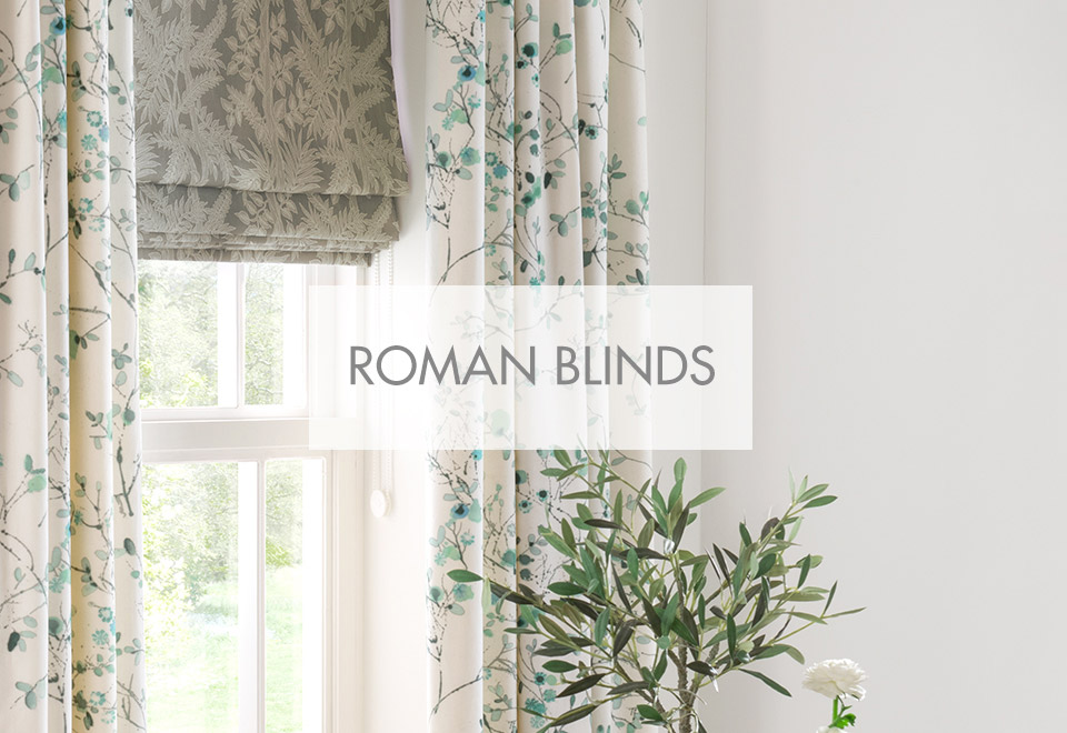 Roman Blinds from Forrest Furnishing