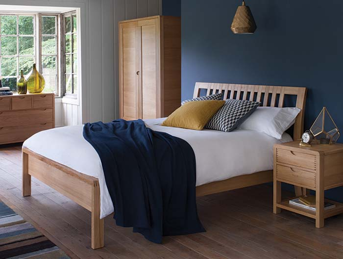 Bosco bedroom collection by Ercol at Forrest Furnishing