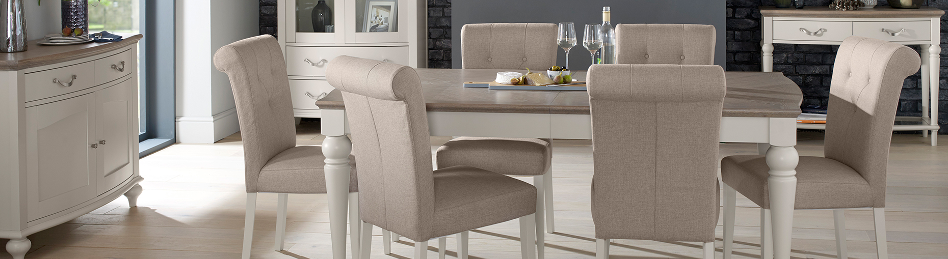 Cannes dining collection at Forrest Furnishing
