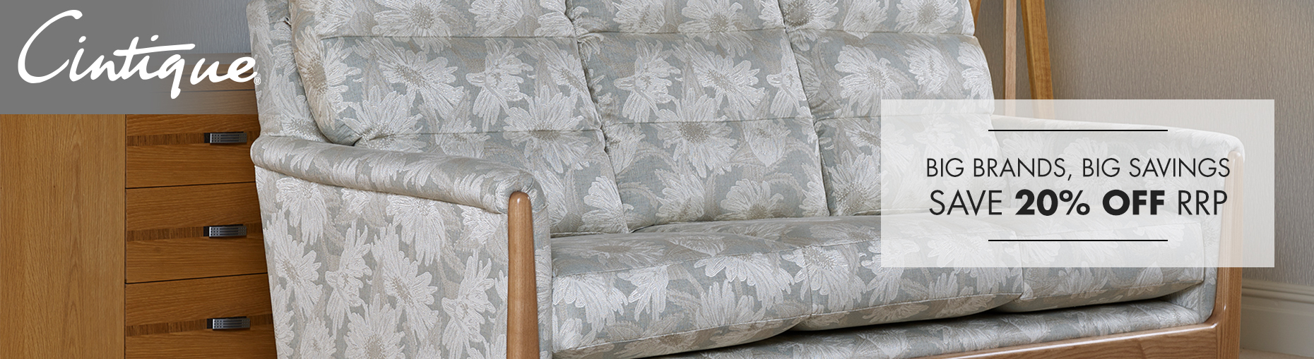 Cintique Upholstery Sofa collections at Forrest Furnishing and save 20% off rrp.
