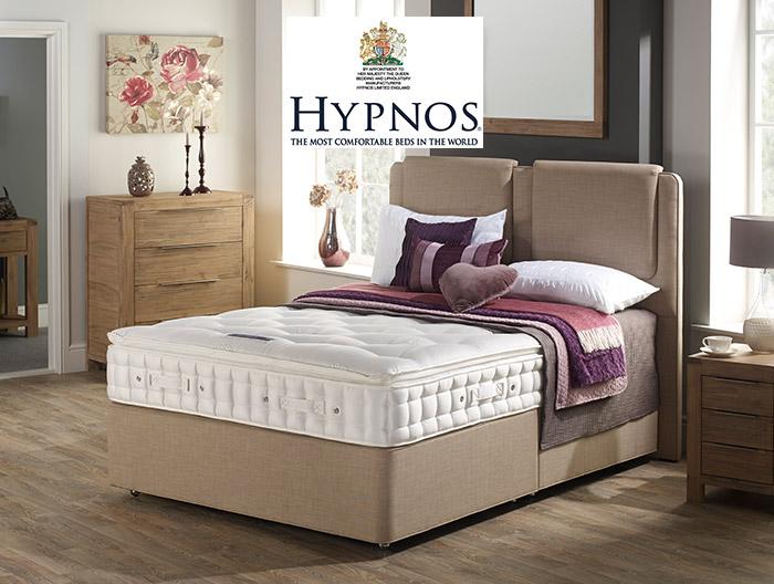 Cirrus Supreme divan collection by Hypnos at Forrest Furnishing